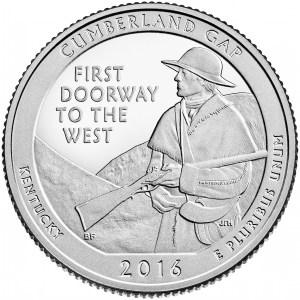 Revere of the 2016 Cumberland Gap Quarter
