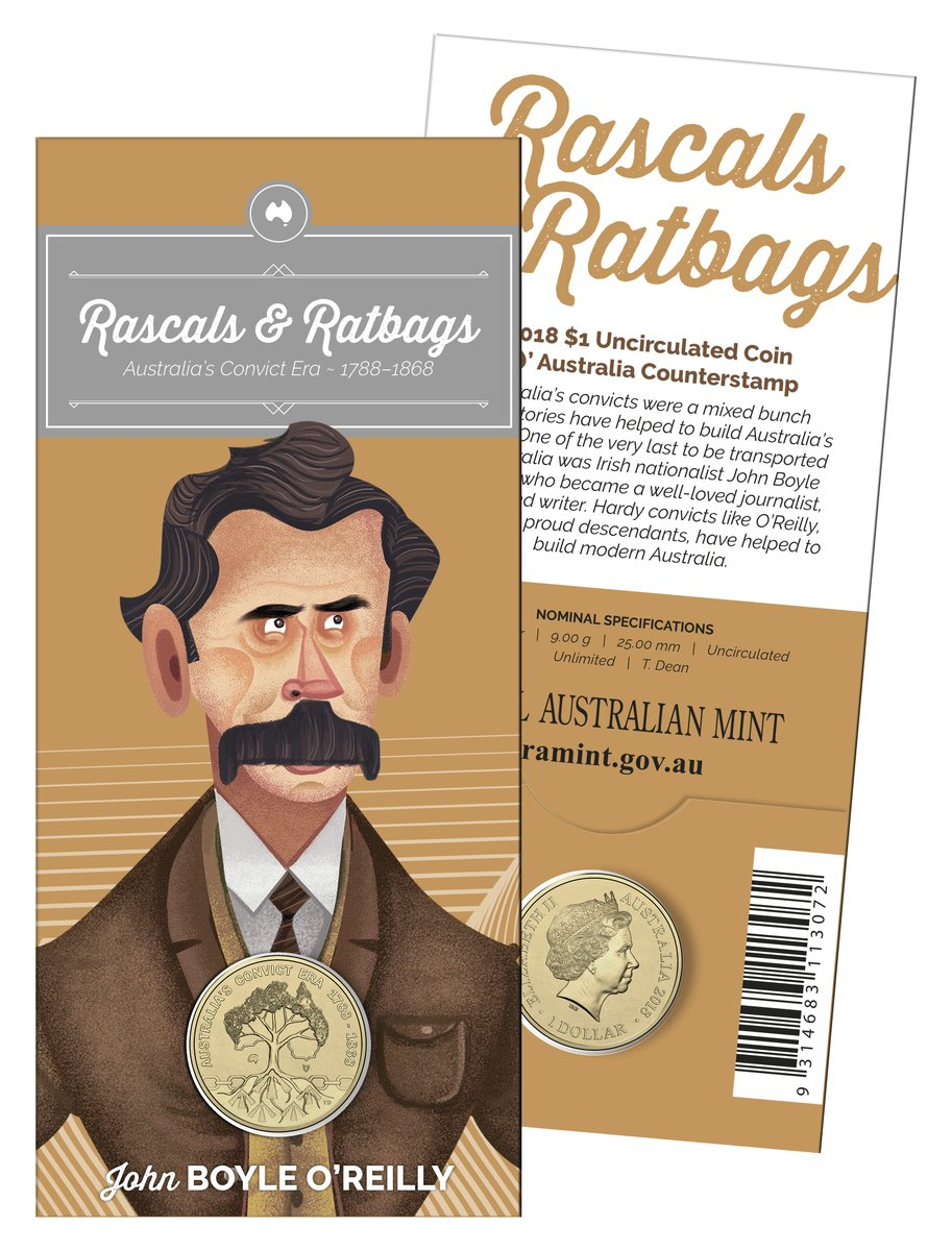 2018 Australia/'s Convict Era $1 Mintmark /& Privy Mark 4 Coin Set