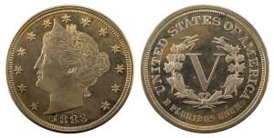 1883 Liberty Head Nickel (Type 1)