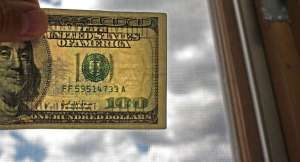 Bleached Counterfeit Currency
