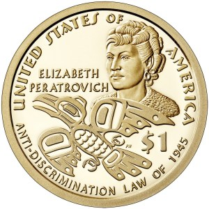 2020 Native American $1 Reverse