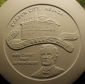 Carson City Mint Sesquicentennial Mold