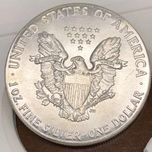 Fake Silver Eagle Reverse