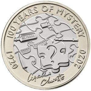 Agatha Christie £2 Commemorative Coin