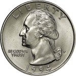 1994-P Washington Quarter