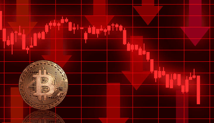 BTC, ETH, and ADA all drops by double digits over the last week