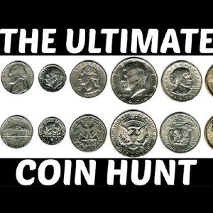 INTRODUCING THE ULTIMATE COIN HUNT: AN ORIGINAL COIN HUNTING SERIES!