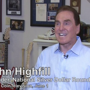 CoinTelevision: Silver Dollar Conventions and Rock Music. (June 1, 2016)