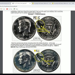 RARE No FG Kennedy Half Dollar Worth Thousands Of Dollars! Do You Have One?
