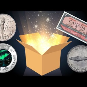 RARE OLD COINS + VINTAGE DISCONTINUED BANK NOTES IN MY MAIL! LIVE OPENING!