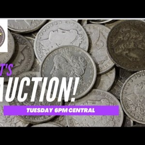 Coin Auction April 6th 2021