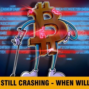 BTC down 30%, ETH down 38% — When will the carnage stop? | Live at 1pm ET