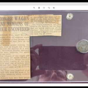 A Girls Dies Clutching a Bag Of Shield Nickels - Sad History Story
