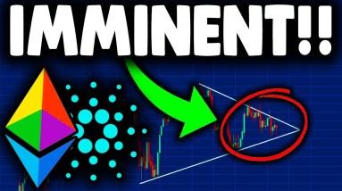 NEXT ETHEREUM & CARDANO MOVE IMMINENT!!! ETHEREUM PRICE PREDICTION, CARDANO PREDICTION & NEWS TODAY!