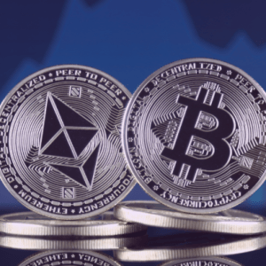 bitcoin and ethereum are resting on two price levels