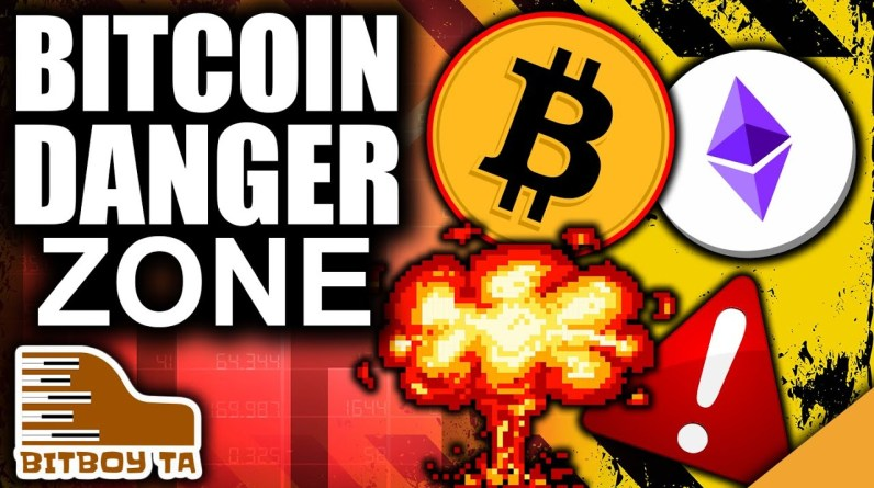 Bitcoin's Lower Low Breaches Danger Zone (First Support Area Holds)