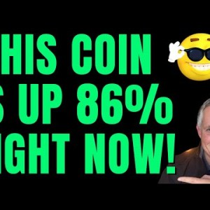 🔥 THIS COIN IS UP 86% AND MOVING UP FAST! 🔥
