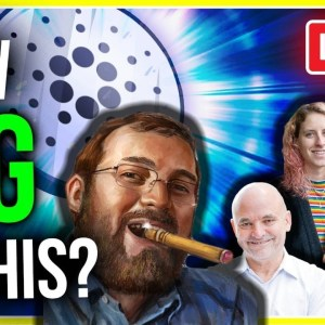 GREATEST CARDANO UPGRADE IMMINENT! (CHARLES REVEALS LIVE)