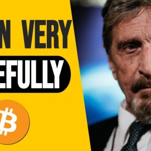 John Mcafee - Why Bitcoin Price  Will Get To A Million Dollars