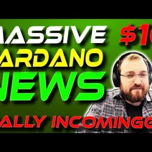 Massive Cardano NEWS | ADA Cardano Price Prediction | Crypto News Today