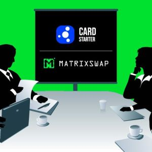 matrixswap to be launched as an ido by cardstarter