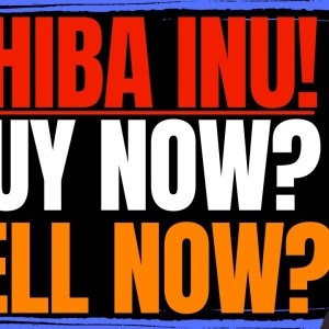 SHIBA INU COIN - SHOULD YOU BUY NOW OR SELL NOW?!