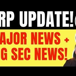 XRP MAJOR UPDATE! MAJOR SEC DEVELOPMENT FOR RIPPLE XRP!