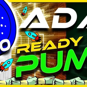 🔥 ADA GETS READY TO PUMP! 🔥 CARDANO ADA ANALYSIS & UPDATE   CRYPTO NEWS TODAY