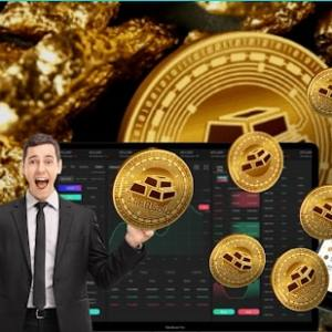 all that glitters can actually be gold with new hybrid cryptocurrency