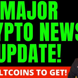 MAJOR CRYPTO NEWS TODAY! GREAT ALTCOIN BUYING OPPORTUNITIES! MY FAVORITE ALTCOINS HIGHLIGHTED!