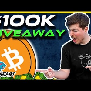 $100,000 BTC BITCOIN GIVEAWAY WITH MR BEAST | WIN With MR BEAST | Crypto News Today