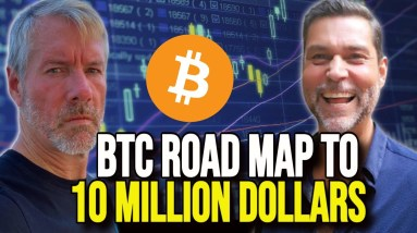 Michael Saylor & Raoul Pal -  This Is How Bitcoin Gets To 10 Million A Coin