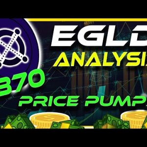 $870 eGLD Incoming? Elrond eGLD Price Pumps | eGLD Analysis & Update | Crypto News Today