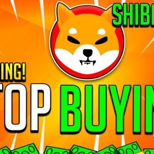 SHIBA INU HOLDERS STOP BUYING! - SHIB TOKEN BURN & NEW REGULATION!!!
