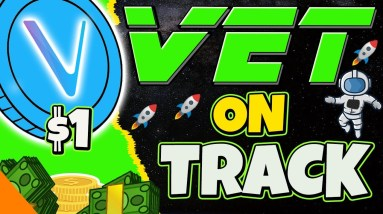 🚀 $1 VECHAIN ON TRACK? 🚀 VET ANALYSIS & UPDATE   CRYPTO NEWS TODAY