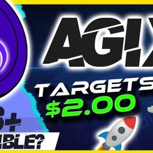 🔥 AGIX TARGETS $2 🔥 SINGULARITYNET AGIX ANALYSIS & UPDATE