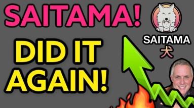 🔥 SAITAMA COIN - DID IT AGAIN! SAITAMA INU IS ON FIRE! 🔥