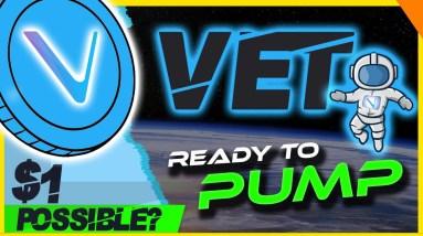 🔥 VET ON TRACK 🔥 VECHAIN READY TO PUMP? VET ANALYSIS & UPDATE
