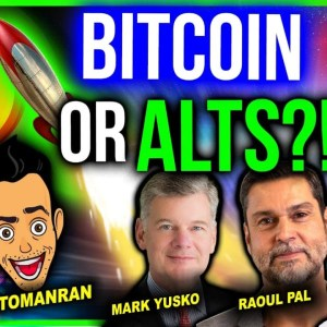 BITCOIN OR ALTCOINS IN Q4?? (FOUR WHALES AGREE!)