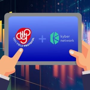 defi yield protocol pushes dyp token liquidity with kyberdmm