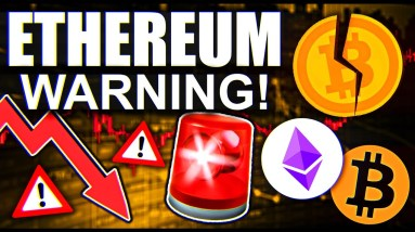 ETHEREUM ABOUT TO FALL OFF A CLIFF?!!?!?!!??