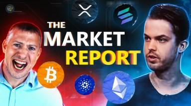The Market Report w/ Michaël van de Poppe