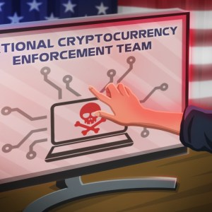 u s department of justice establishes cryptocurrency enforcement team