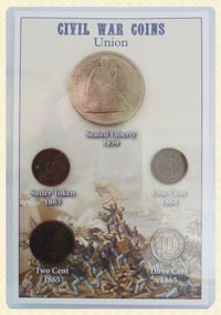 "Civil War ""Union"" Coin set"