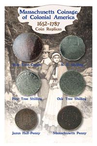 Massachusetts Coin Set 1652-1787
