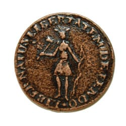 NY Indian Arms coin