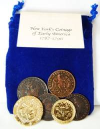 New York's Coins of Early America Educational Set