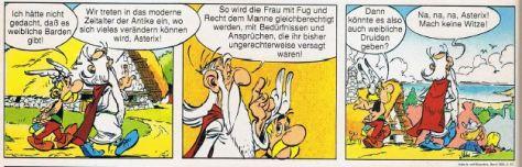 Asterix und Frauenquote