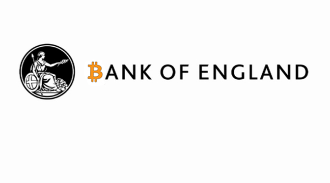 Bitcoin & The Bank of England (Update)