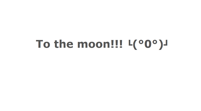 Bitcoin? To the moon!!!